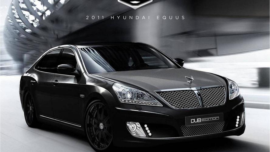 Hyundai Equus DUB Edition headed for SEMA