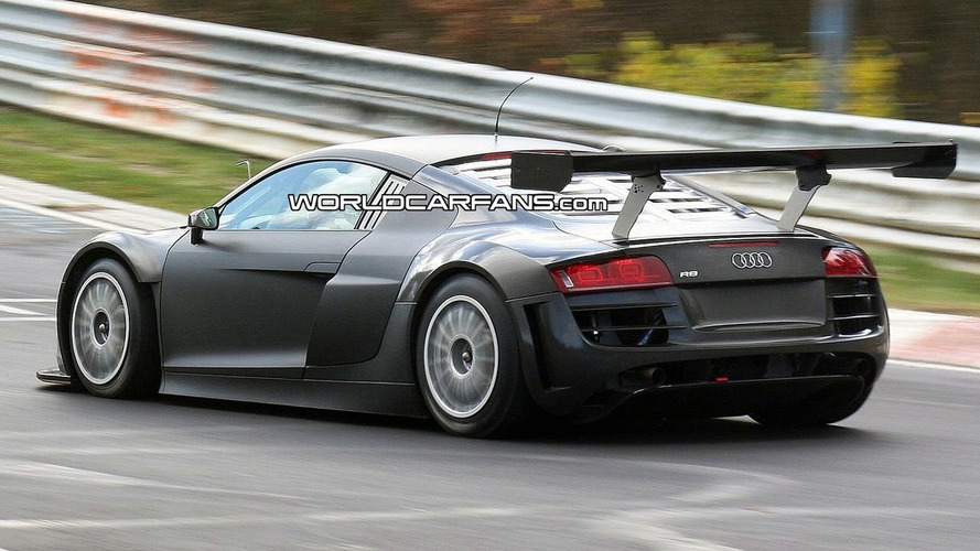 Audi R8 GT3 Spied at Nürburgring