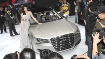 2011 Audi A8 L at Auto China 2010 in Beijing