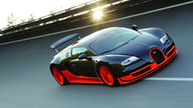 Bugatti developing a 1,600 HP Veyron Super - report