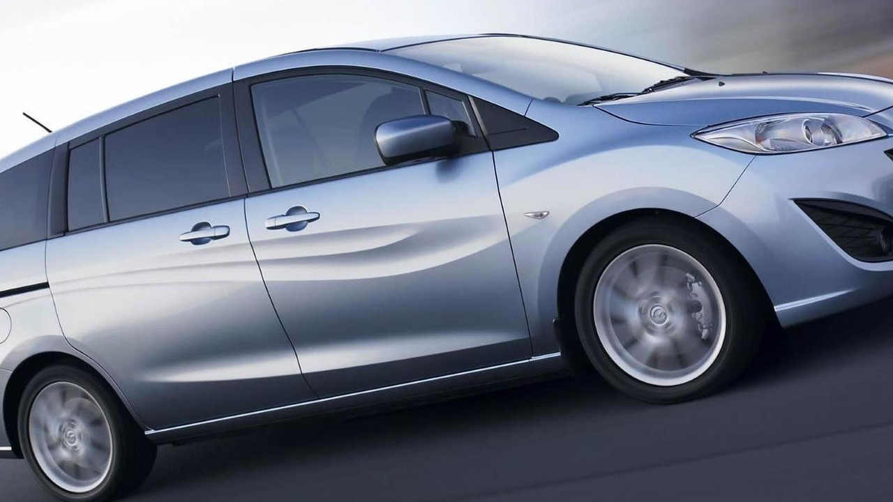 The all-new Mazda5 with a new economical MZ-CD 1.6 diesel engine.