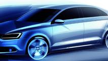 2011 Volkswagen design sketch Jetta 21.07.2010