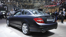 Mercedes-Benz C 350 Coupe BlueEFFICIENCY live in Geneva - 01.03.2011