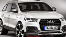 2015 Audi Q7 render shows plausible design evolution
