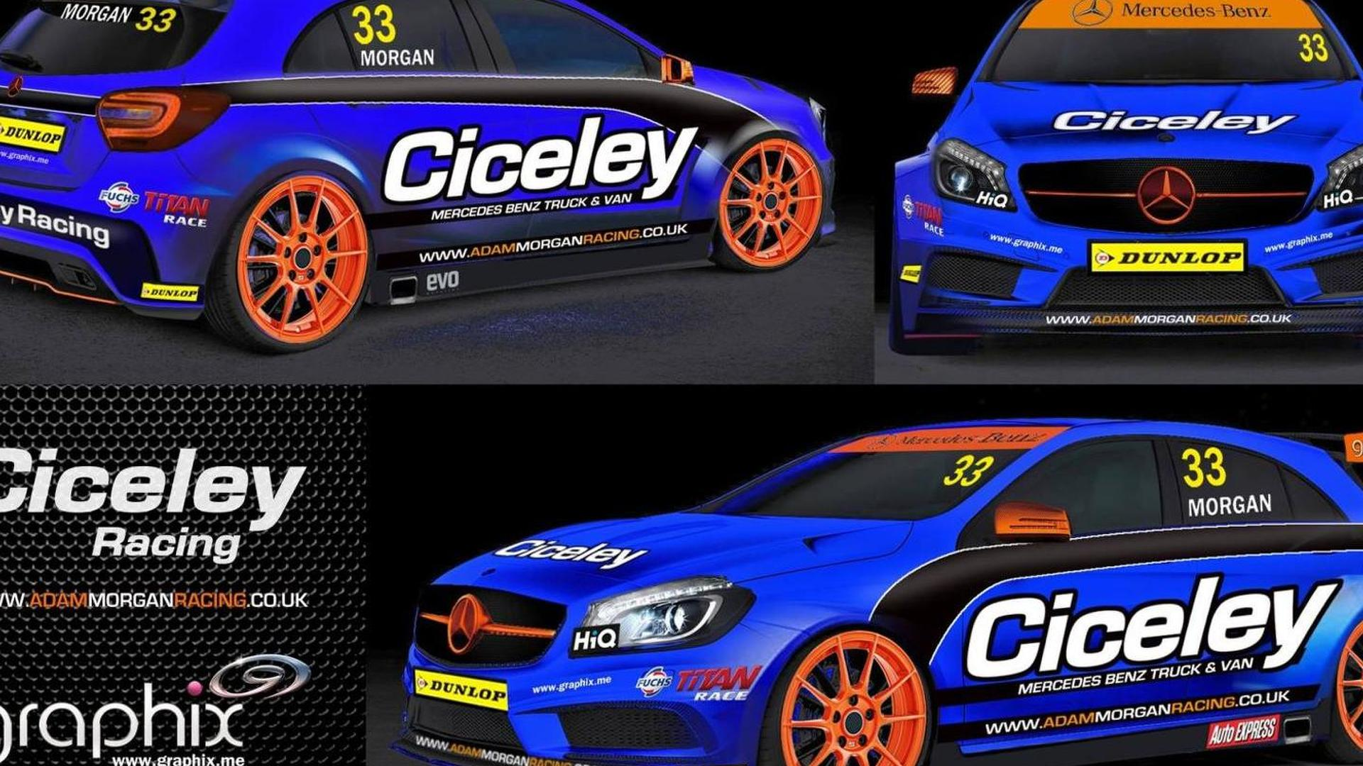 Mercedes A-Class to compete in the BTCC