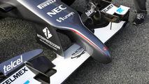 Sauber C33 launch  Formula One Testing Jerez Spain