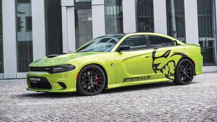 German tuned Dodge Charger SRT Hellcat unleashes 782 horsepower