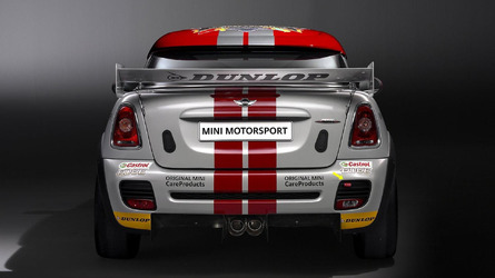The MINI John Cooper Works Coupé Endurance racer [videos]
