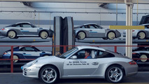 100.000th Porsche vehicle transported by rail