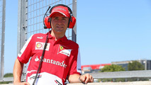 Davide Rigon Ferrari Test Driver 19.07.2013 Formula One Young Drivers Test Silverstone England
