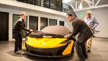 Jay Leno receives first US-spec McLaren P1 [video]
