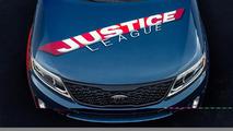 Justice League-themed Kia Sorento for 2013 San Diego Comic-Con 18.07.2013