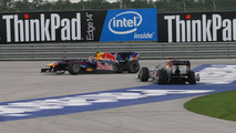 Webber did not press overtake button - report