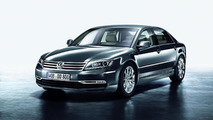 2011 VW Phaeton major facelift officially unveiled