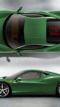 Ferrari 458 Italia - Verde