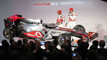 McLaren Unveils New MP4-25 Car