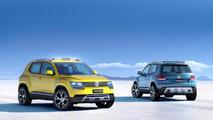 Volkswagen Taigun concept introduced in Brazil