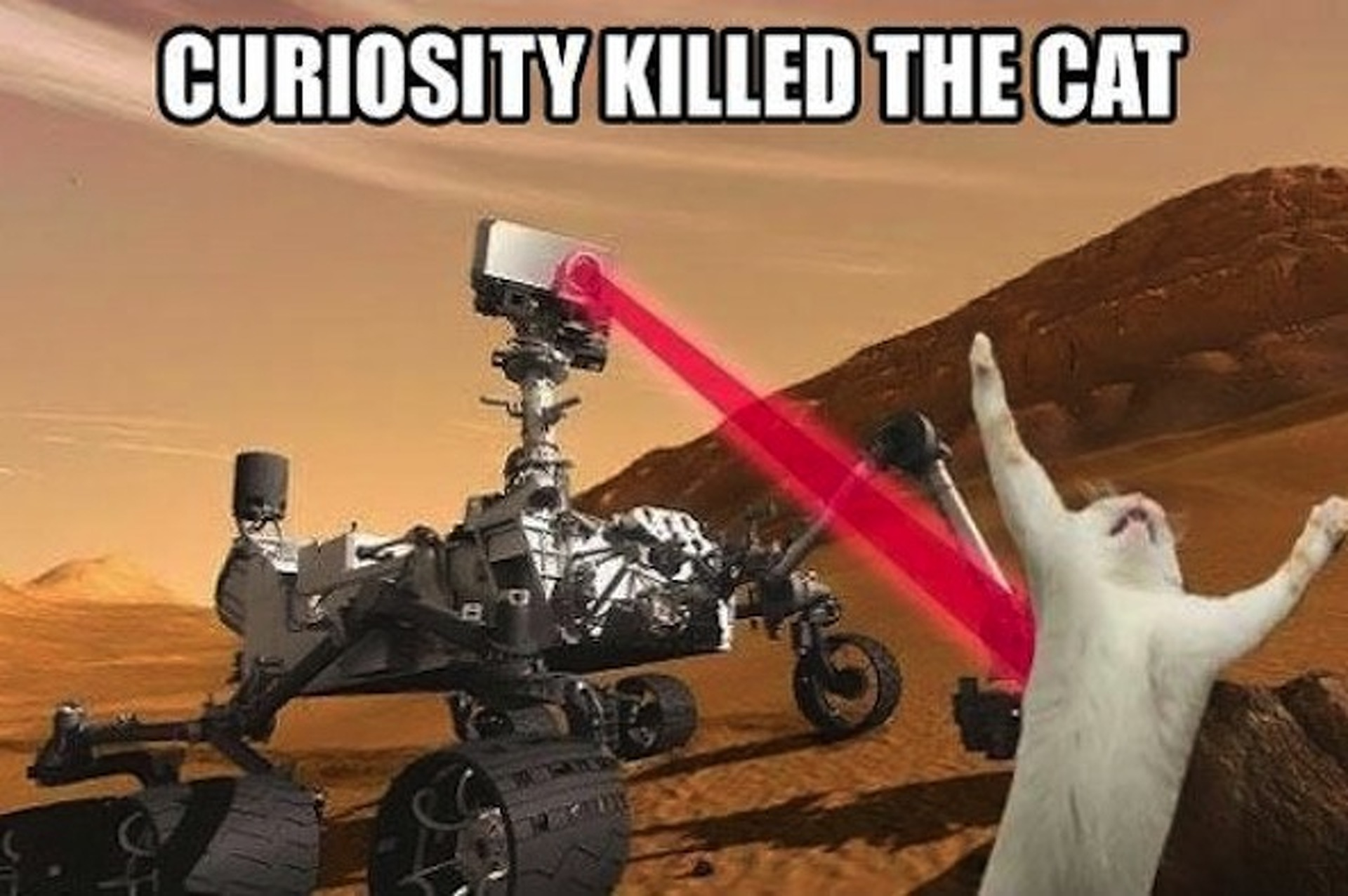 """Curiosity Rover Finds a """"Flower"""" on Martian Surface"""