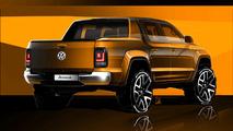 2016 Volkswagen Amarok facelift teaser