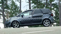Opel Meriva Prototype loses a little more camouflage