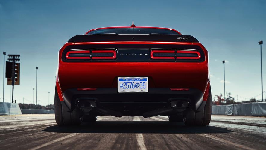 The 2018 Dodge Challenger SRT Demon's nearly 100-kg diet