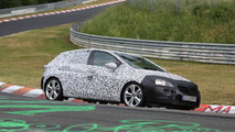 2016 Opel/Vauxhall Astra caught testing on Nurburgring [video]