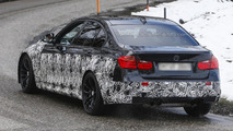 2014 BMW M3 poses for the camera