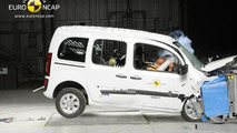 Mercedes-Benz Citan Euro NCAP crash test 26.04.2013