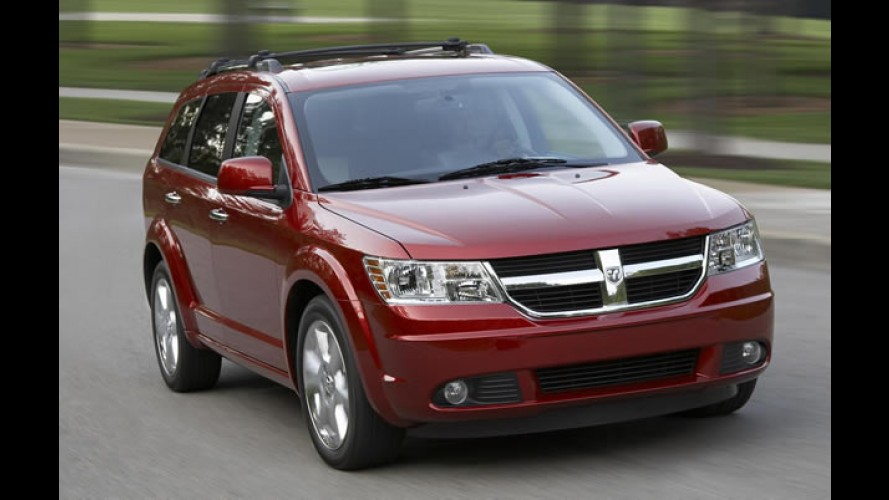 Chrysler convoca Dodge Journey e Town & Country para recall no Brasil