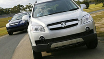All New Holden Captiva SUV Range Hits The Road (AU)