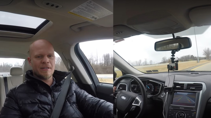 What happens when you shift modern car into Reverse while driving?