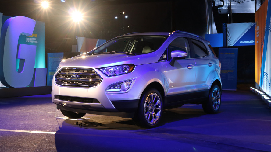 Ford EcoSport finally comes to America
