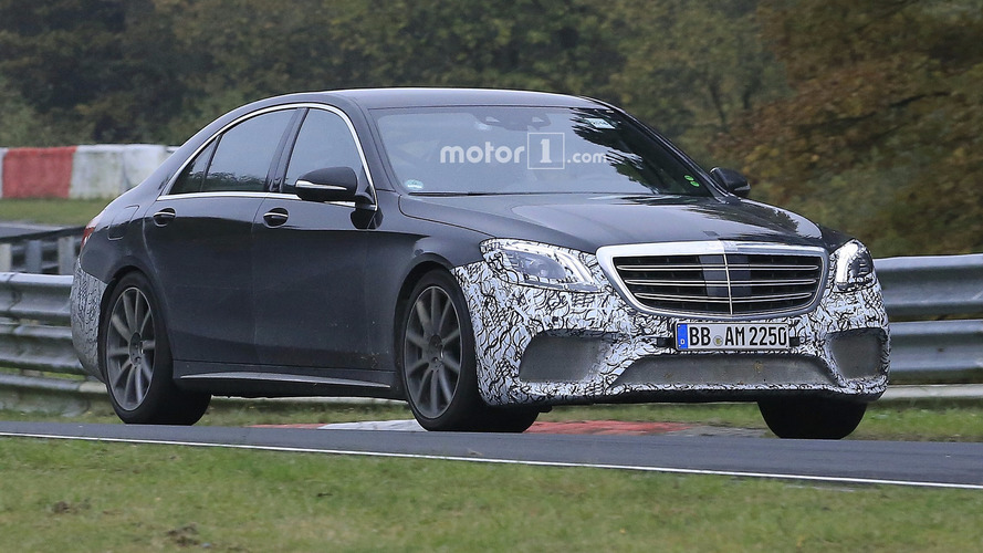 Mercedes-AMG S63 heads to the Nurburgring gym