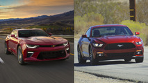 Camaro vs Mustang sales: rentals make the difference