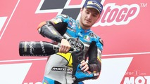 Podium: winner Jack Miller, Marc VDS Racing Honda celebrates with champagne