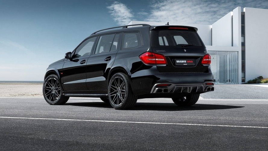 Brabus 850 XL based on Mercedes GLS