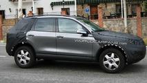 2011 VW Touareg Latest Spy Photos