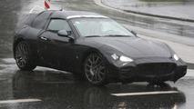 Maserati GranTurismo Spyder Prototype in Heavy Camoflage