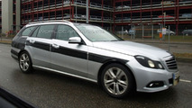 Mercedes-Benz E-Class Wagon Spied Again with Little Camouflage