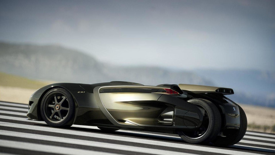 Peugeot EX1 concept revealed for Paris Motor Show