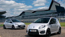 Twingo Renaultsport 133 Silverstone GP and Clio Renaultsport 200 Silverstone GP