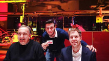 Dal Canton Fotografia with Sebastian Vettel and Sergio Marchionne