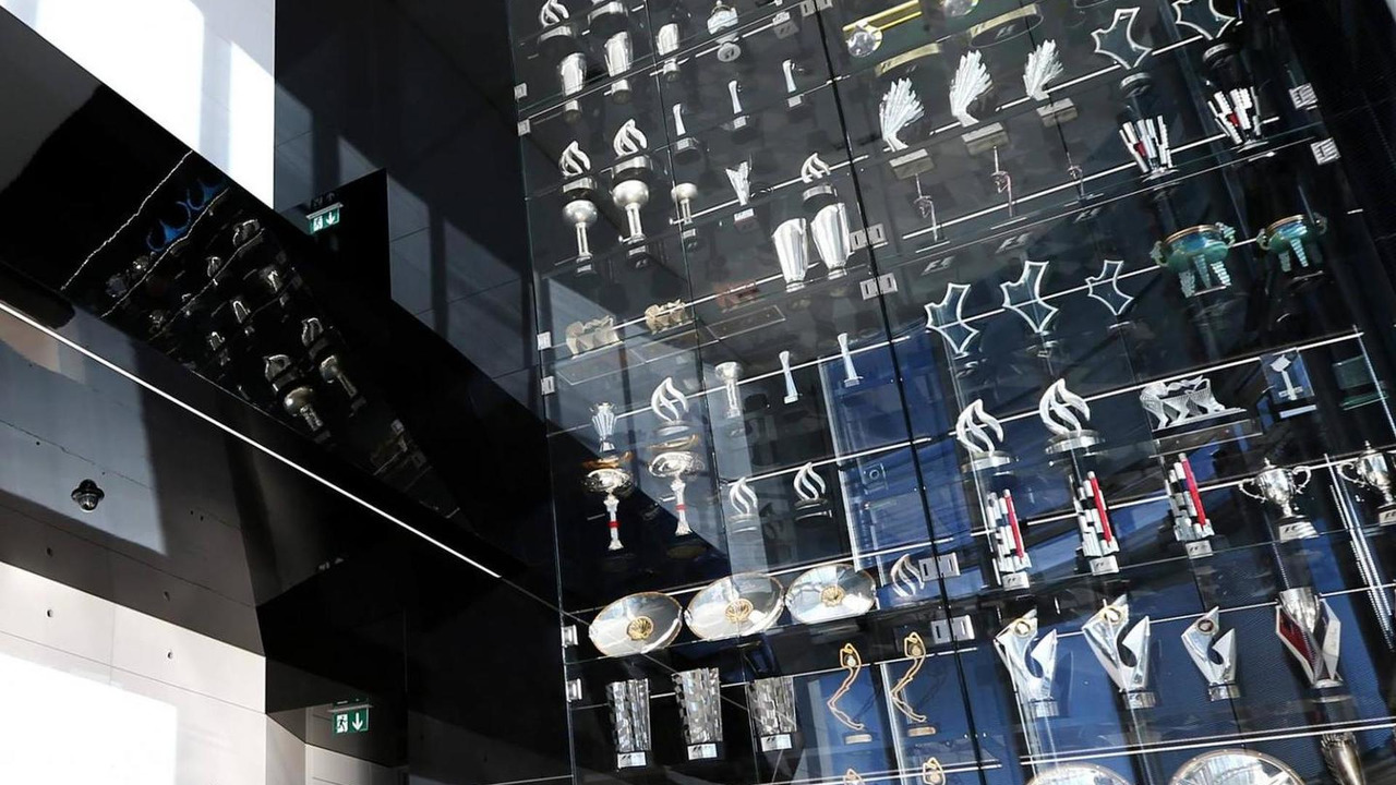 Red Bul Milton Keynes trophy museum