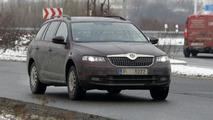 2013 Skoda Octavia Combi spied
