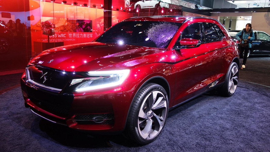 Citroen DS Wild Rubis Concept arrives at Auto Shanghai