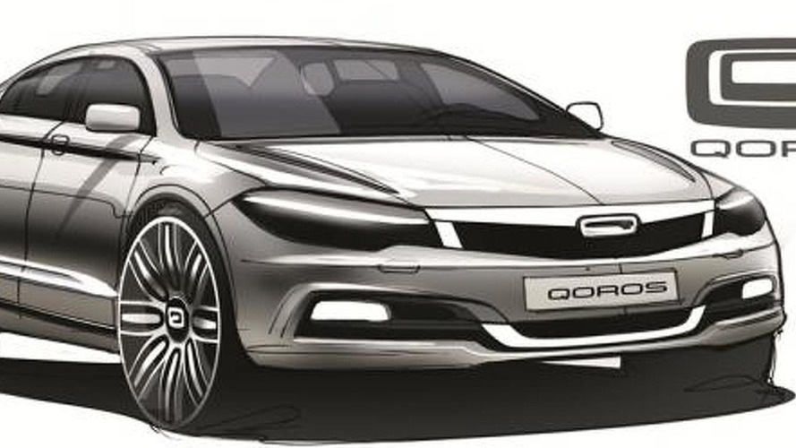 Qoros reveals compact sedan design studies, looking surprisingly nice