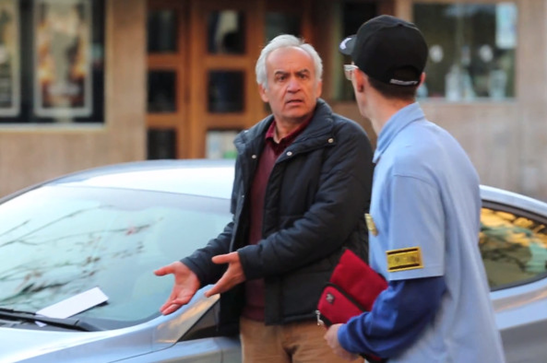 Meter Maid Tickets Cars Right in Front of Owners– With a Twist! [video]
