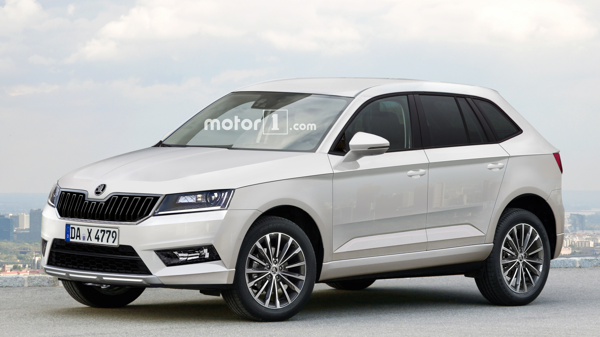 2017 skoda yeti envisioned with vw tiguan genes. Black Bedroom Furniture Sets. Home Design Ideas