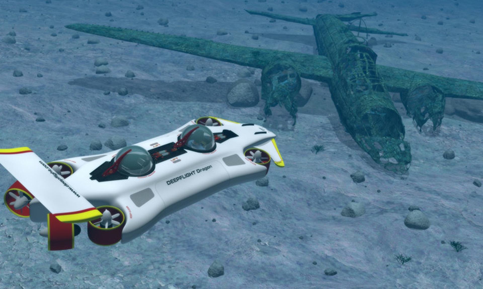 DeepFlight Dragon: A $1.5 Million Underwater Explorer