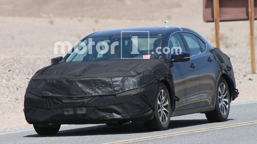 2018 Acura TLX shows a new face in the desert